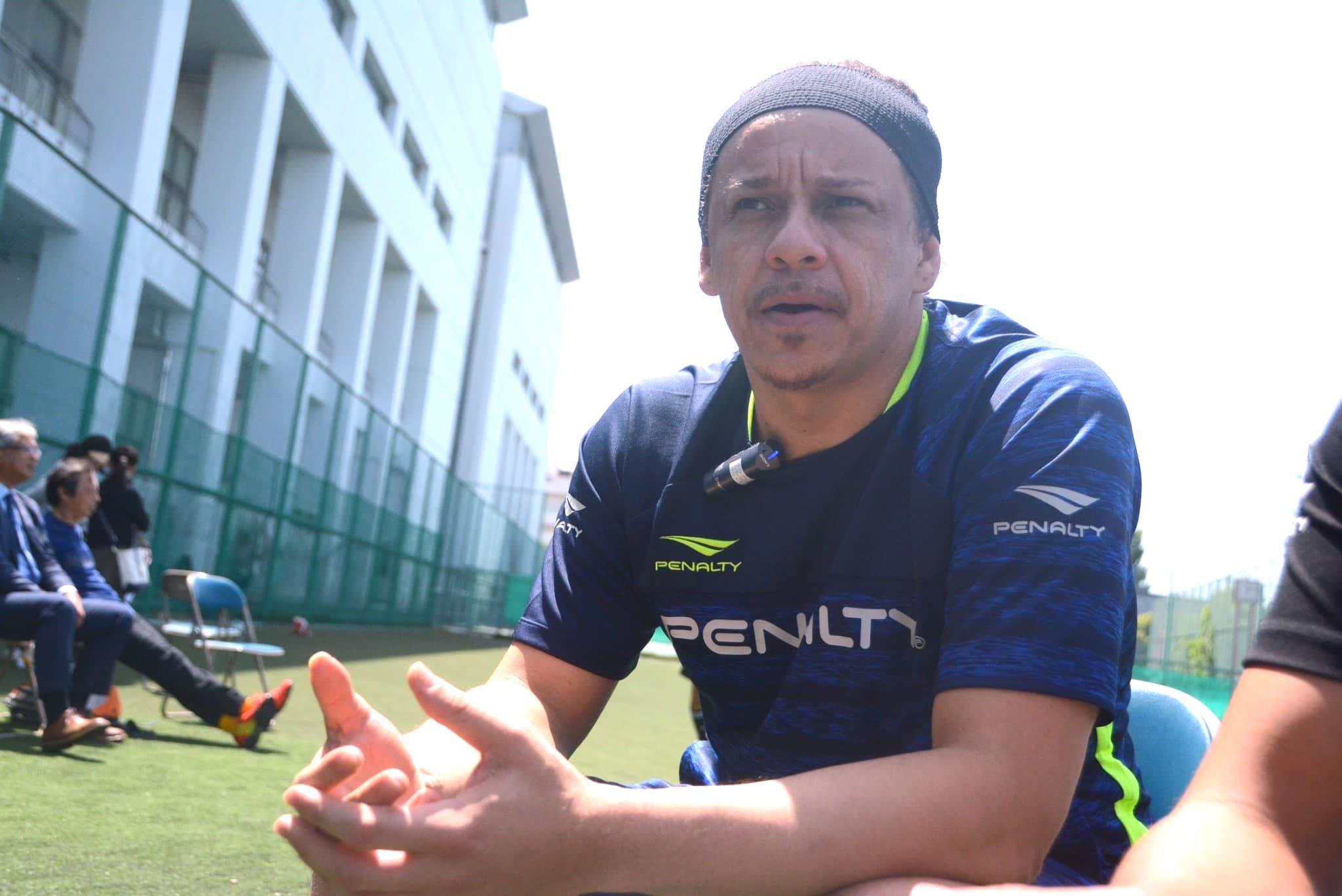 元ブラジルサッカー代表、フランサが日本サッカーに対して思うこと 画像