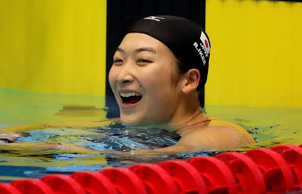 【水泳】池江璃花子、東京五輪への道つなぐ 女子100m自由形で標準記録突破 画像