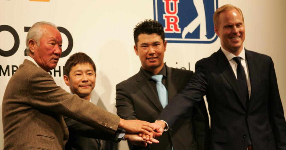 PGAツアーが日本で開催!松山英樹はスポンサー・ZOZO前澤社長との月旅行参加を希望!? 画像