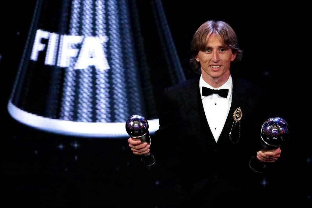 ロシアW杯MVP、バロンドール…モドリッチが2018年に受賞した4つの個人賞を紹介 画像