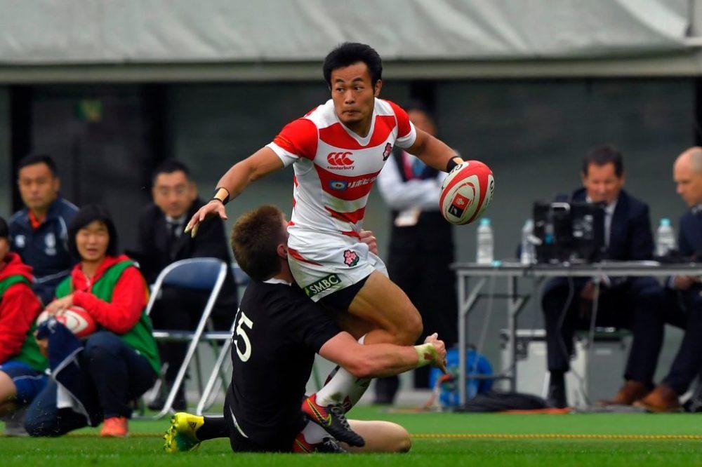 福岡堅樹、NZ代表選手と笑顔の2ショット ラグビーに伝わる