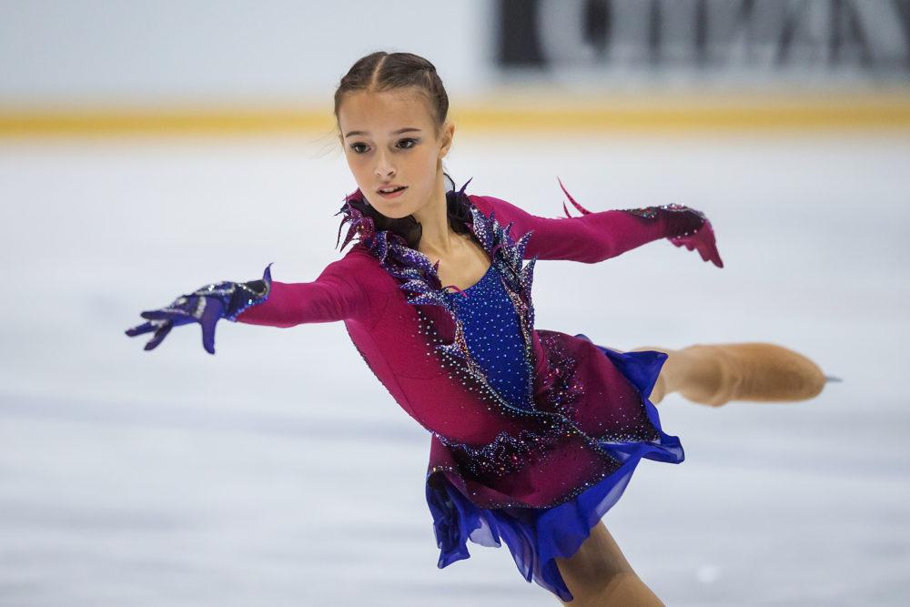 アンナ・シェルバコワは4回転ルッツを跳ぶ驚異の14歳!ロシア選手権でザギトワ・メドベージェワを破る 画像