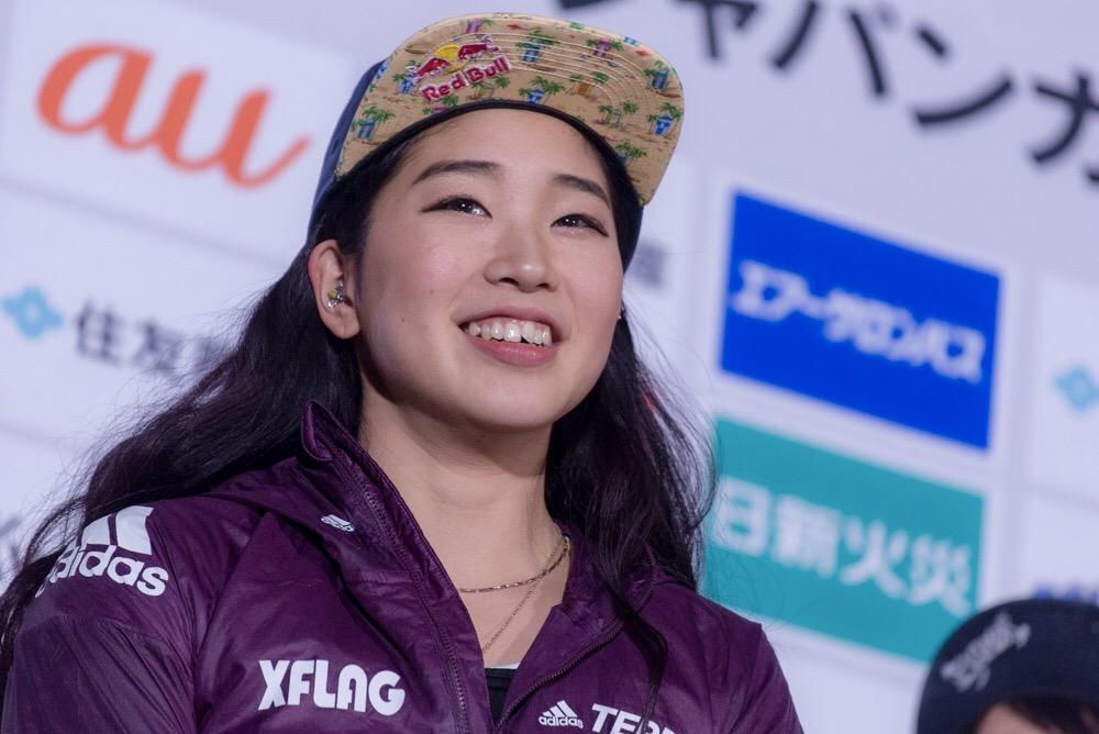 野中生萌、悲願のボルダリングジャパンカップ初優勝!大坂なおみの優勝も刺激に 画像