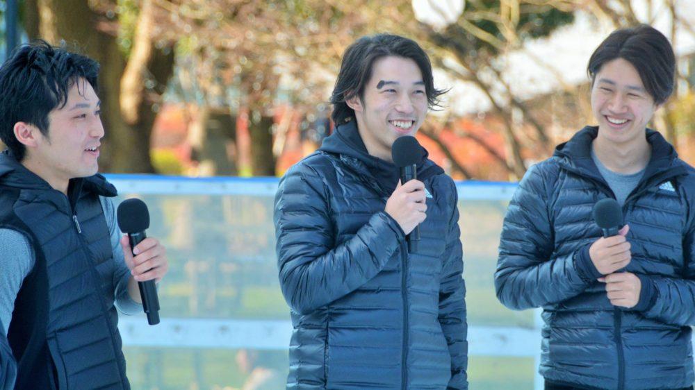 スケート界全体を応援したい!「チームオレンジチアーズ」六本木に登場 画像