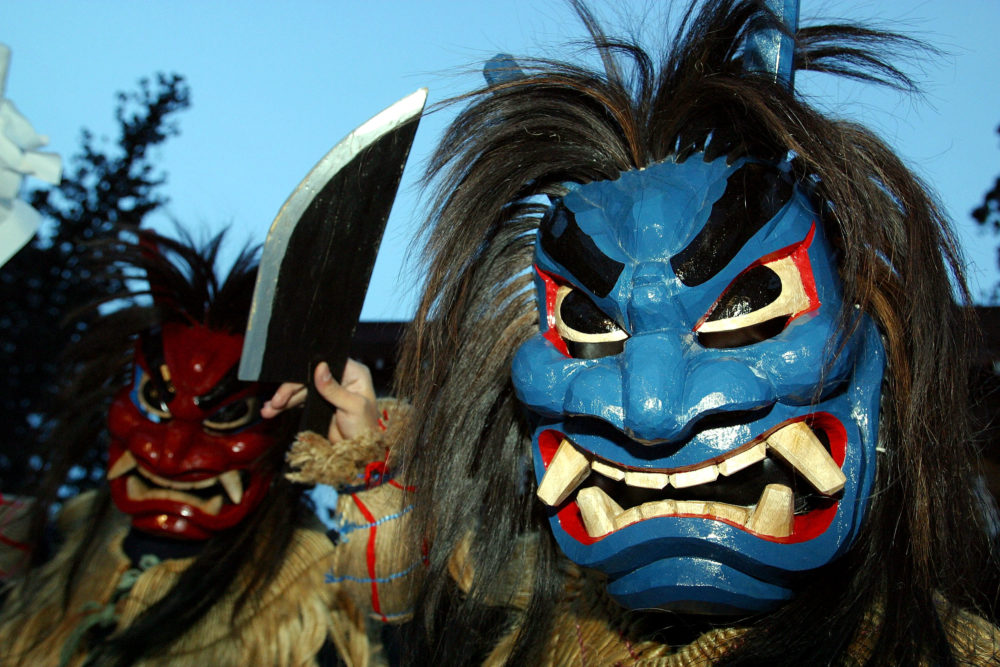 オリックス近藤大亮、2年連続で鬼に襲われるが今年も勝利 画像