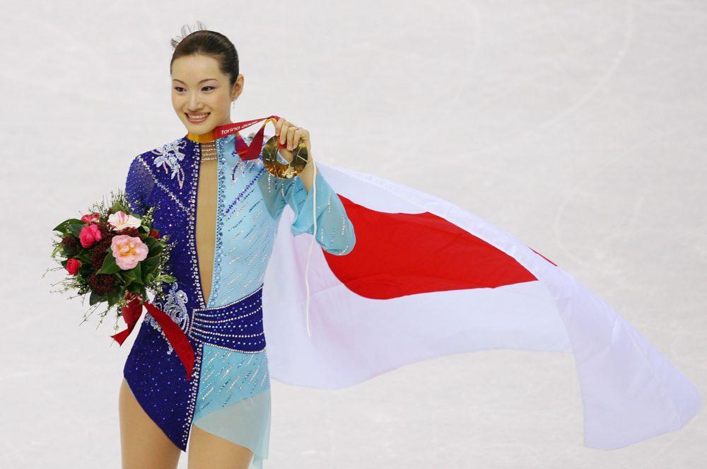 【今日は何の日・2/22~2/28】2006年2月23日「荒川静香、アジア選手として五輪フィギュア史上初の金メダル」 画像