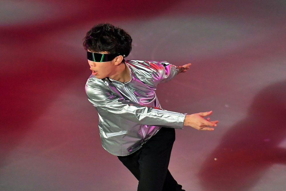これで見納め!?友野一希がダフト・パンクに乗せてロボットダンスを披露 画像