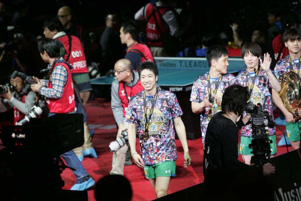 Tリーグ初代MVP・水谷隼が明かす、チームメイトとの関係性「卓球のことばかり考えていると疲れちゃうので」 画像