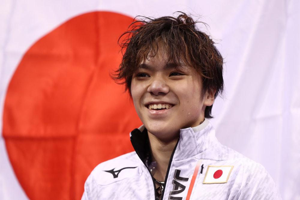宇野昌磨は「元号担当」チーム日本の応援が面白い 画像