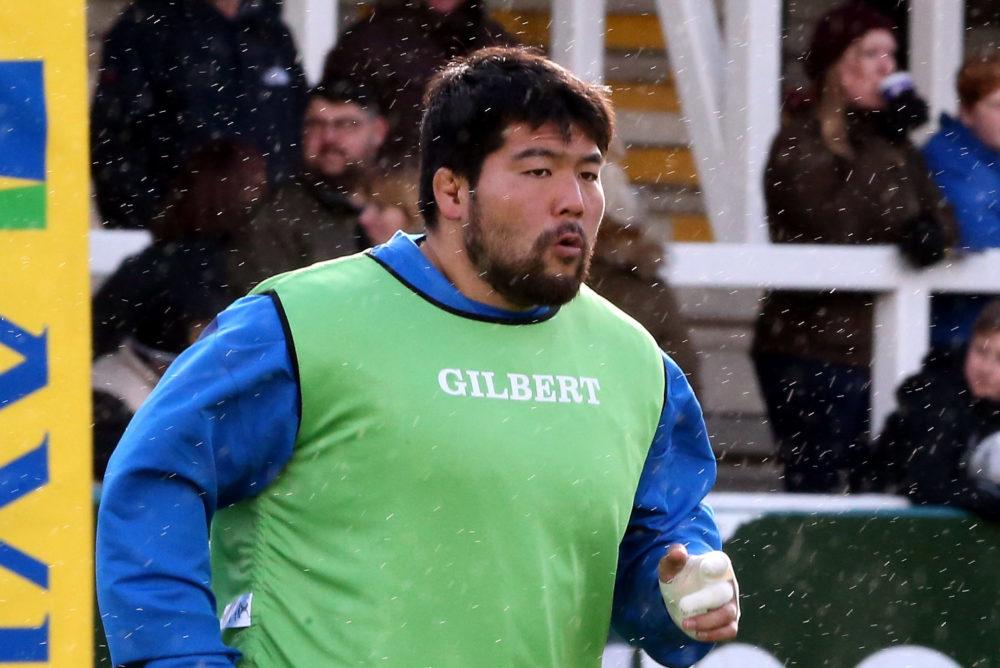 さすがラグビー選手!畠山健介の「本気の高い高い」がすごい 画像