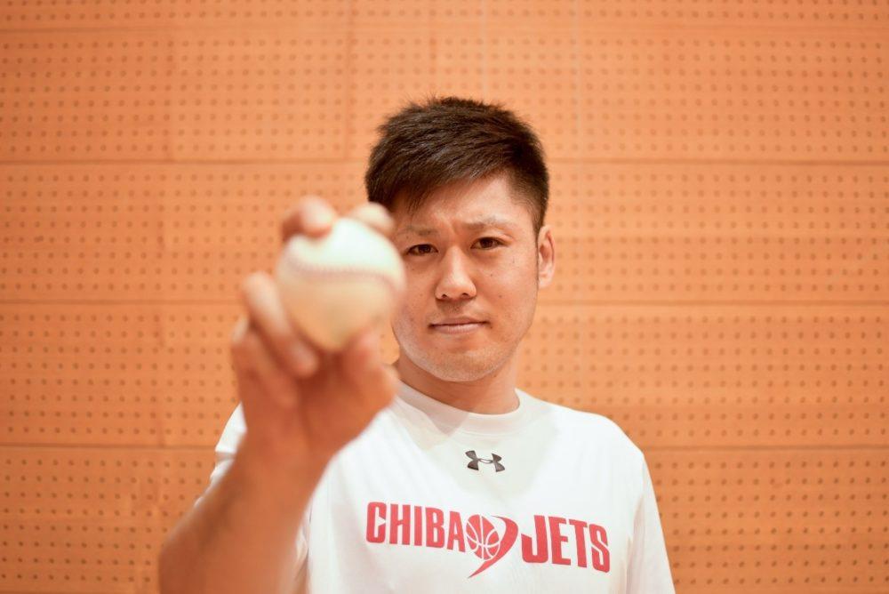 夢は日本一とマリンで始球式 千葉ジェッツふなばし・田口成浩は野球が好きすぎるプロバスケ選手 画像