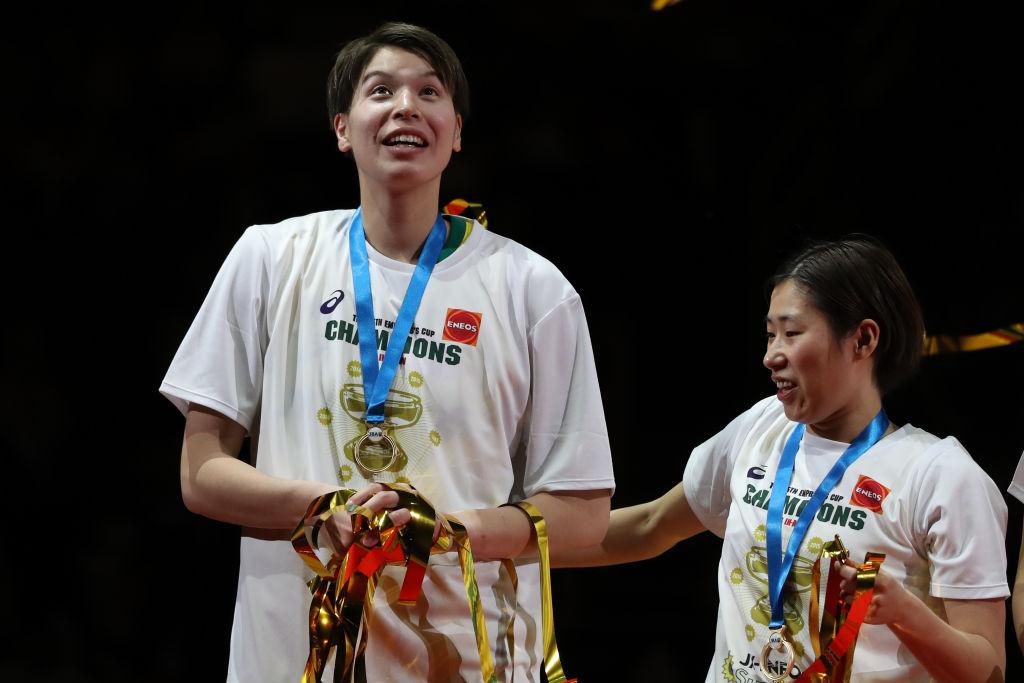 渡嘉敷来夢、28歳の誕生日にチームメイトから祝福 競技を越えた様々な選手からもメッセージ 画像