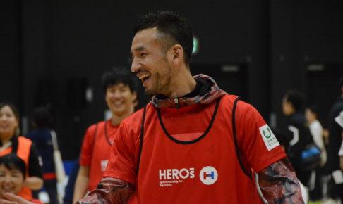 中田英寿らがパラスポーツを体験 「スポーツの力を使って、社会に対してどういうことができるか」