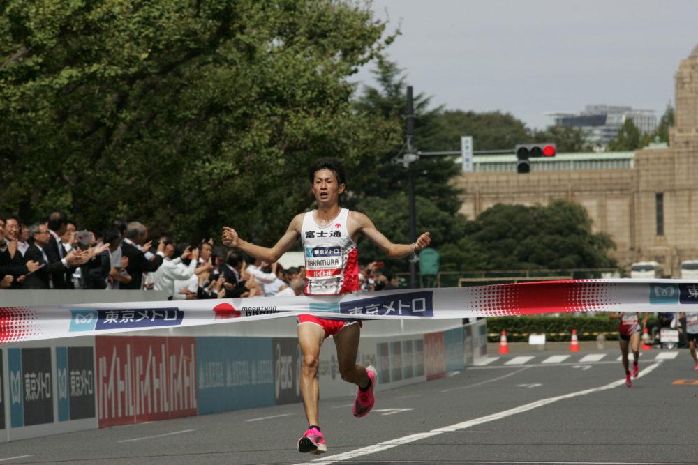 中村匠吾がMGC優勝「40kmで仕掛けるのがベストだと判断した」 画像