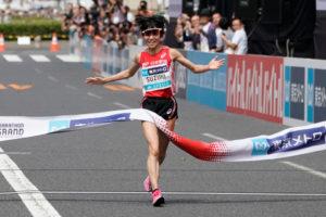 鈴木亜由子が厳しい展開でも掴んだ東京五輪 「あそこで着いていったら今日の結果はなかった」