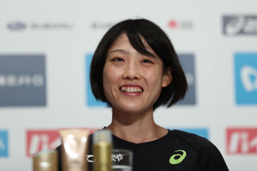 前田穂南、MGC優勝から一夜明け会見 序盤から崩さず「ガツガツ行かないように」 画像