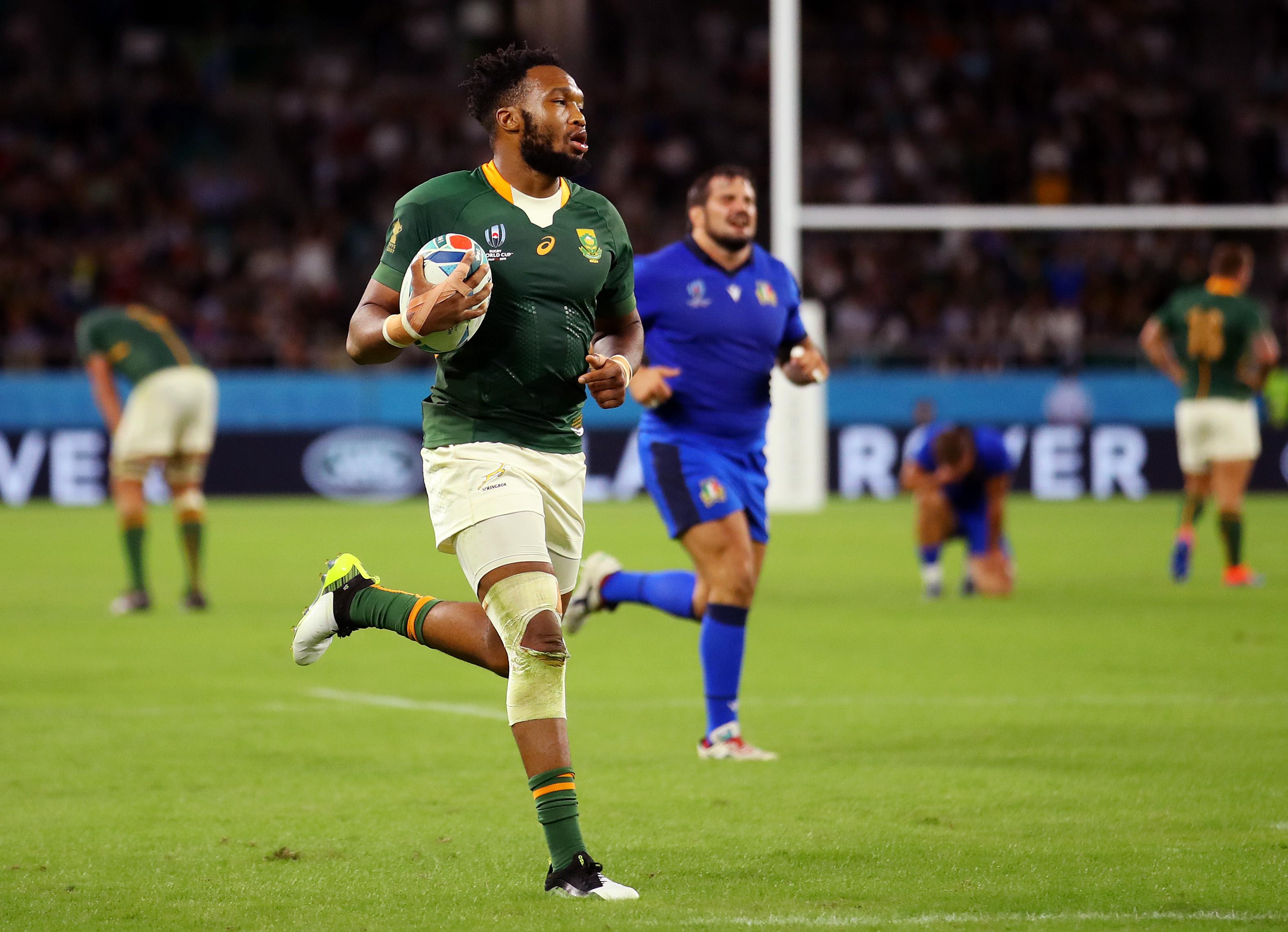 南アフリカ代表 ルカニョ・アムが準々決勝へ意気込み 「日本がいかに成長してきたかを、僕らは目の当たりにした」 画像