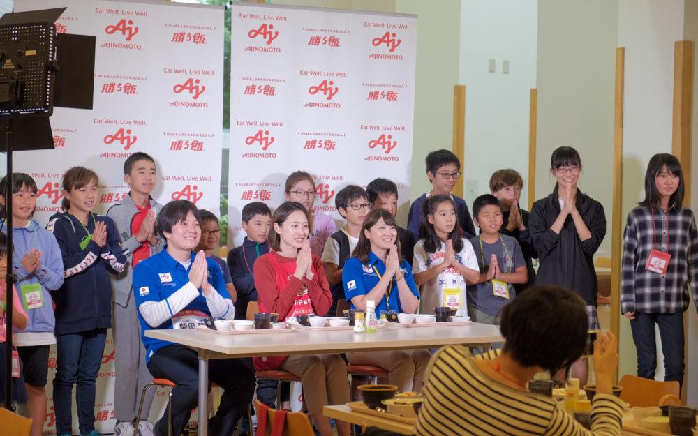柴田隆一、瀬戸優佳による「勝ち飯教室」 キーワードは「5つの輪」 画像