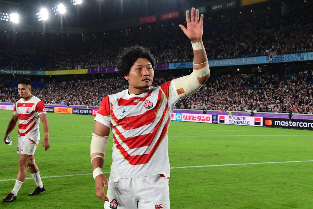 ラグビー日本選手権が中止 稲垣啓太「またラグビーが皆さんの前で出来る日が来る事を祈ります」 画像