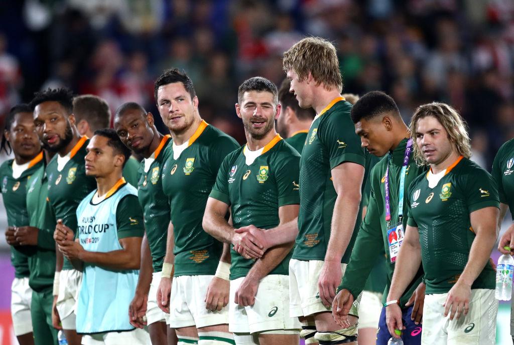 決勝進出の南アフリカ代表、試合後のロッカールームからファンにメッセージ 画像