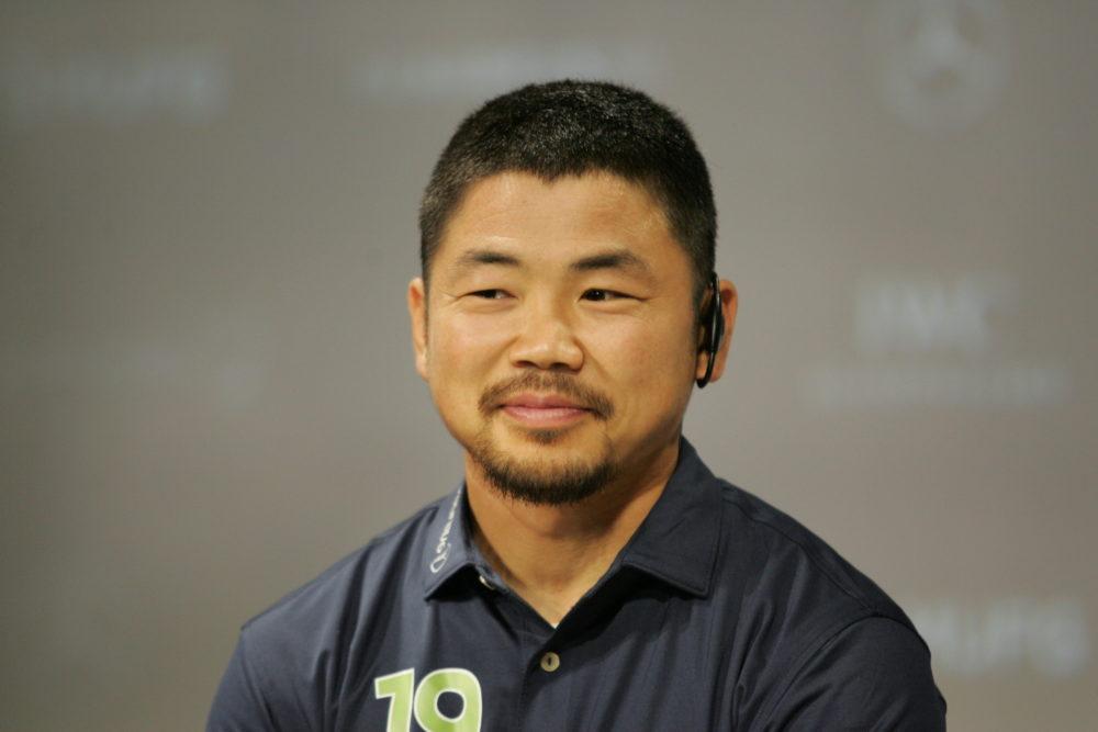 田中史朗は大会中の印象的なプレーを聞かれると、感慨深げな表情でゆっくりと「すべてですね」と答えた 画像