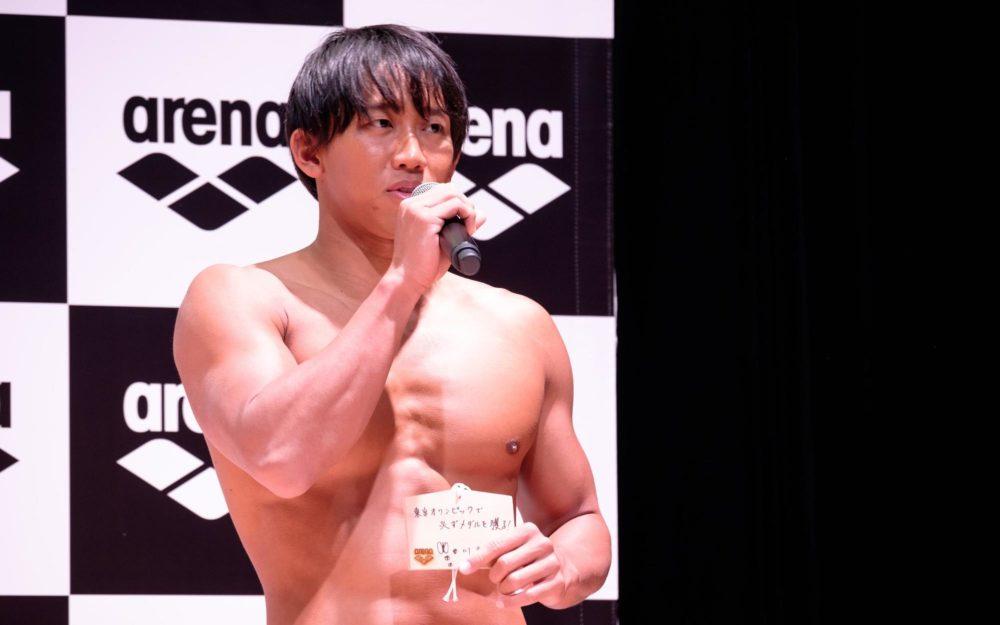 川本武史「東京五輪で必ずメダルを」 ドルフィンキックを活かす水着で世界へ 画像