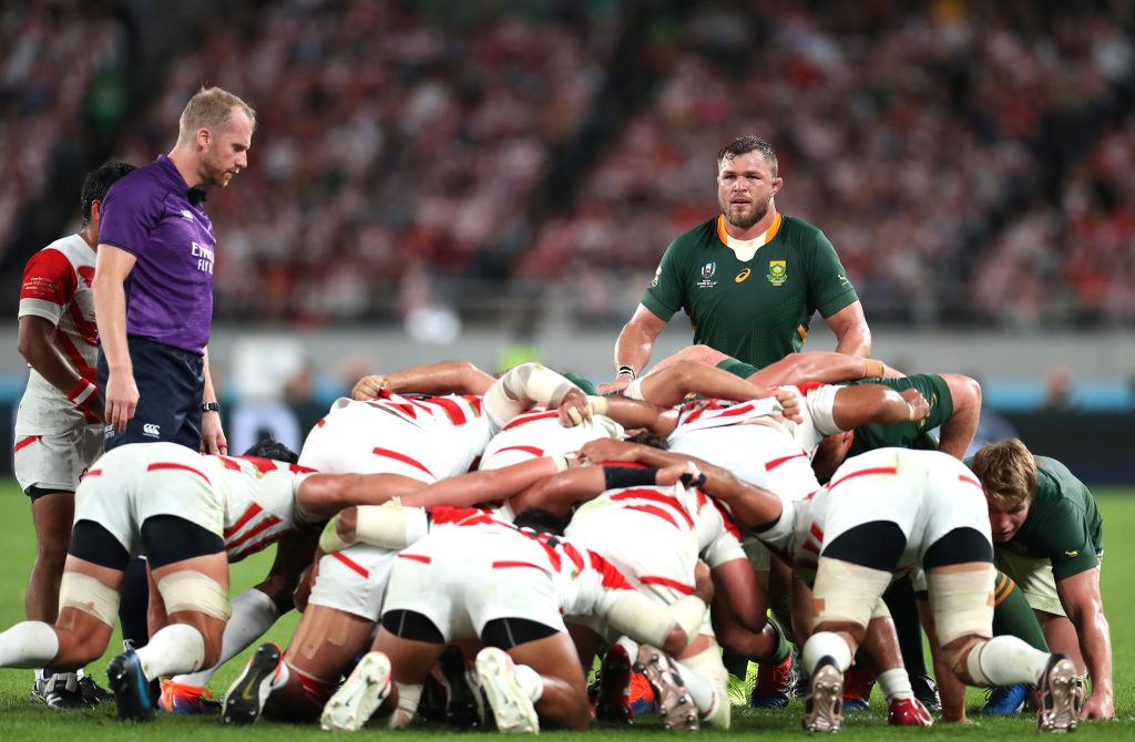 決勝で見せた南アフリカの強力なスクラム 日本の底力に再度脚光が当たる 画像