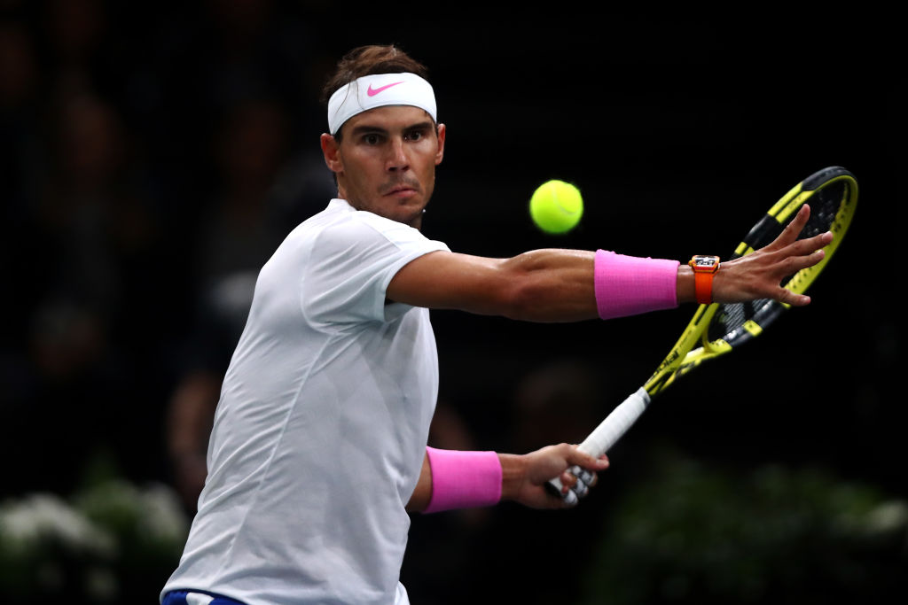 ラファエル・ナダル、ATPファイナルズに出場の意向 「3位より2位、2位より1位でいたい」 画像