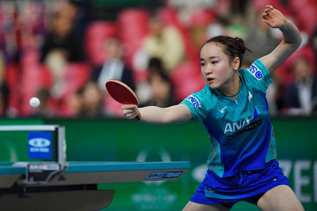 伊藤美誠、オリンピック前哨戦にも「目の前の試合をやりきるのみ」 画像
