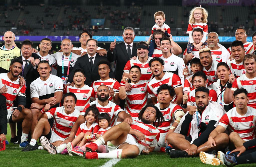 「ONE TEAM」が流行語大賞に 代表選手の集合写真とともに日本ラグビーフットボール協会がコメント 画像