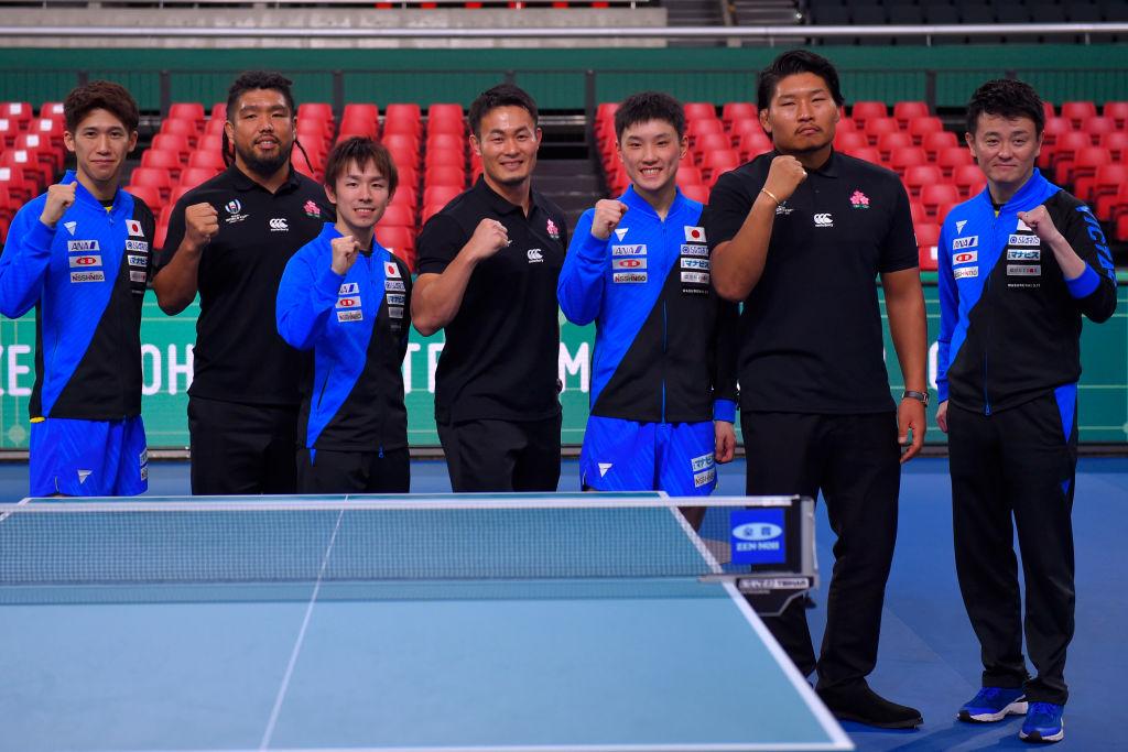 福岡堅樹「瞬きすら忘れるアツい試合」 ラグビー日本代表が卓球W杯の応援に 画像