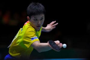 張本智和「もっと良い結果を出せるように」 卓球団体W杯で日本男子は銅メダル
