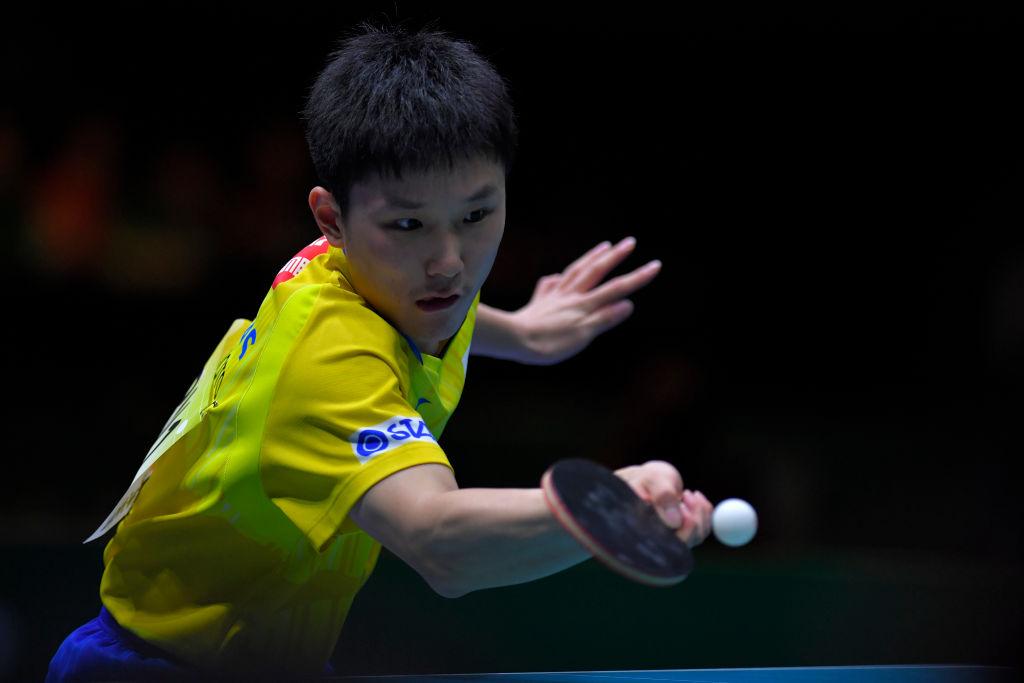 張本智和「もっと良い結果を出せるように」 卓球団体W杯で日本男子は銅メダル 画像