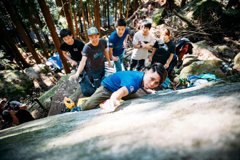 原田海、五輪は「あくまでも通過点」 自分の目指すクライミングをする上で 画像