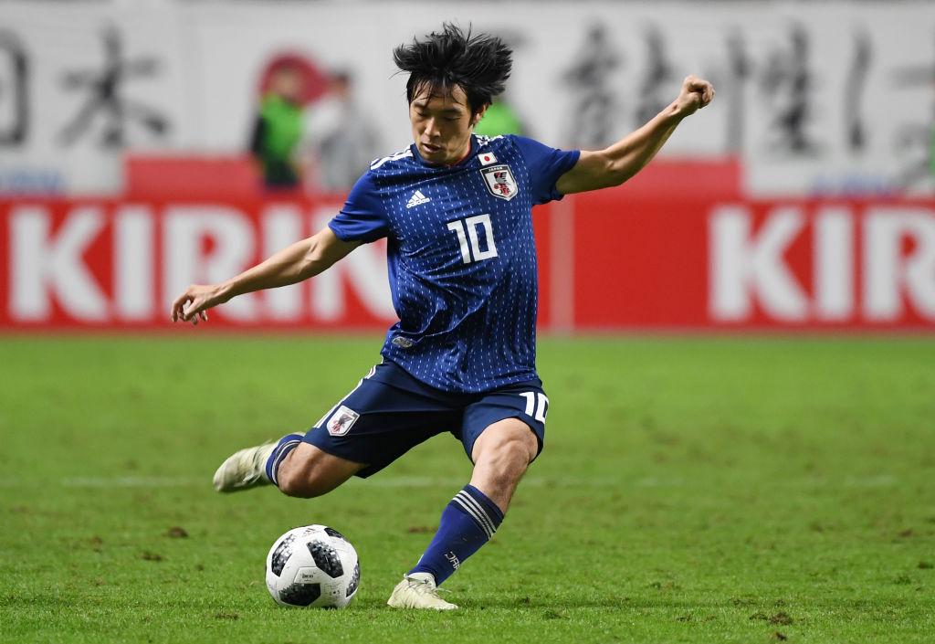 サッカー日本代表「散歩隊in大阪」 中島翔哉や眼鏡姿の柴崎岳も 画像