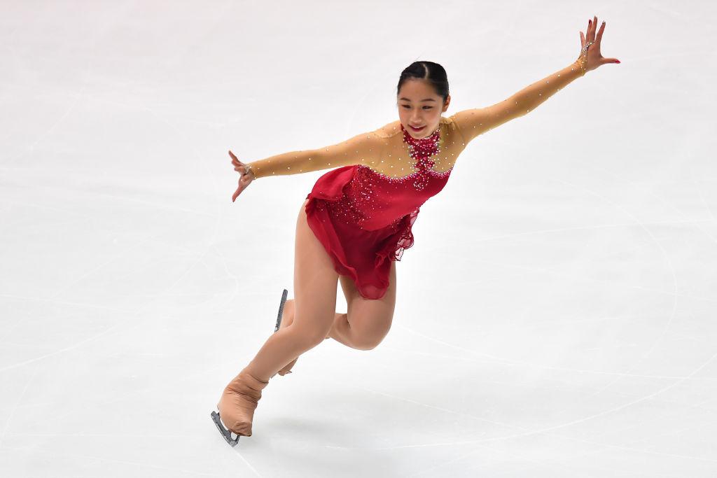 山下真瑚、NHK杯は「できることを全力で」 負傷での調整遅れに懸念もベストを尽くす 画像