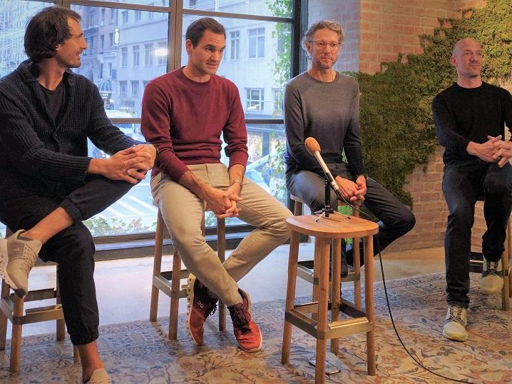 ロジャー・フェデラーがOnとの関わりを語る 「契約というよりは社員に近い立場」 画像