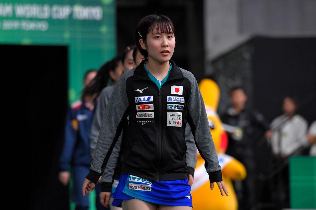 平野美宇、五輪代表団体戦メンバーに選出 これまでの実績が評価 画像