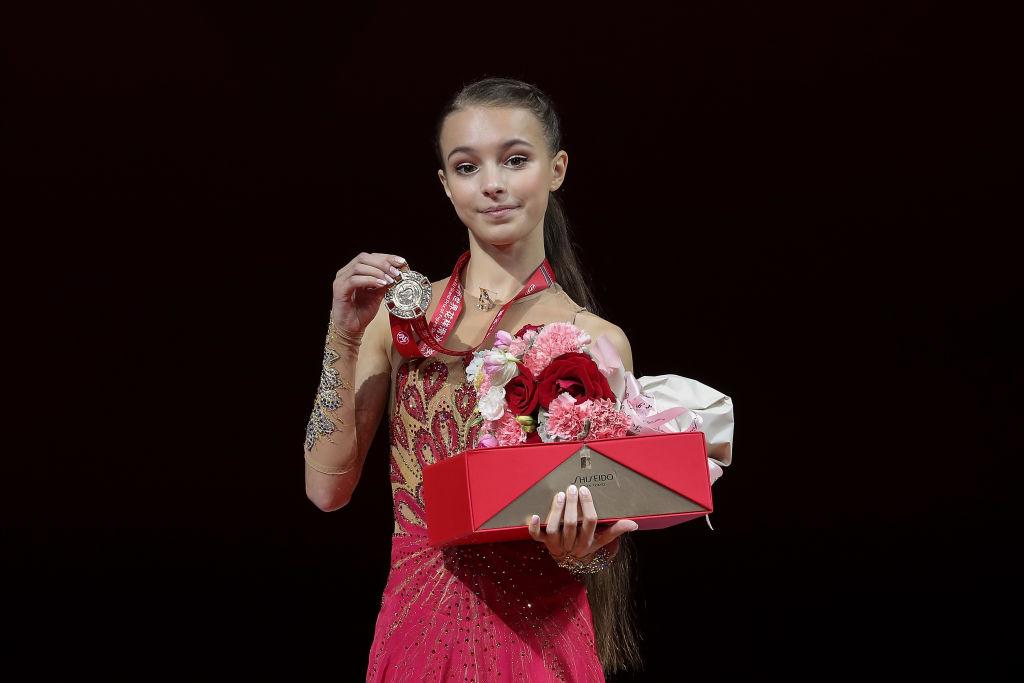 アンナ・シェルバコワ、氷の上では「大人のスケーター」を意識 同門のコストルナヤについても語る 画像