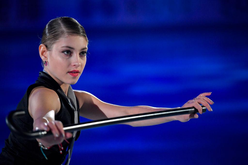 アリョーナ・コストルナヤ、練習時のウェアにピカチュウ ファンアカウントにはイラストも 画像