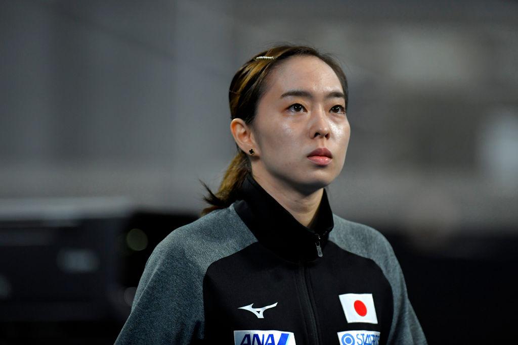 石川佳純、北米オープン優勝の瞬間に涙 平野美宇に勝利し五輪代表に一歩近づく 画像