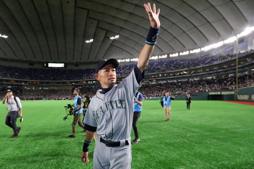 イチローの引退試合も CNNが「今年最高のスポーツ写真」を発表 画像