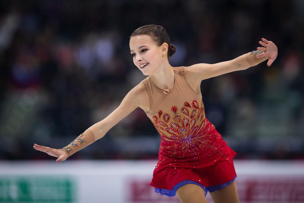 アンナ・シェルバコワ、世界フィギュア中止の胸中を綴る 「まだシーズンが終わったとは信じられません」 画像