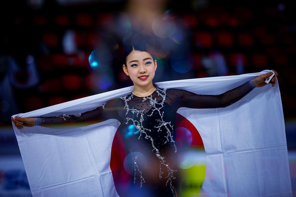 紀平梨花、全日本選手権では初優勝を目指す スポンサーのレッドブルも応援 画像