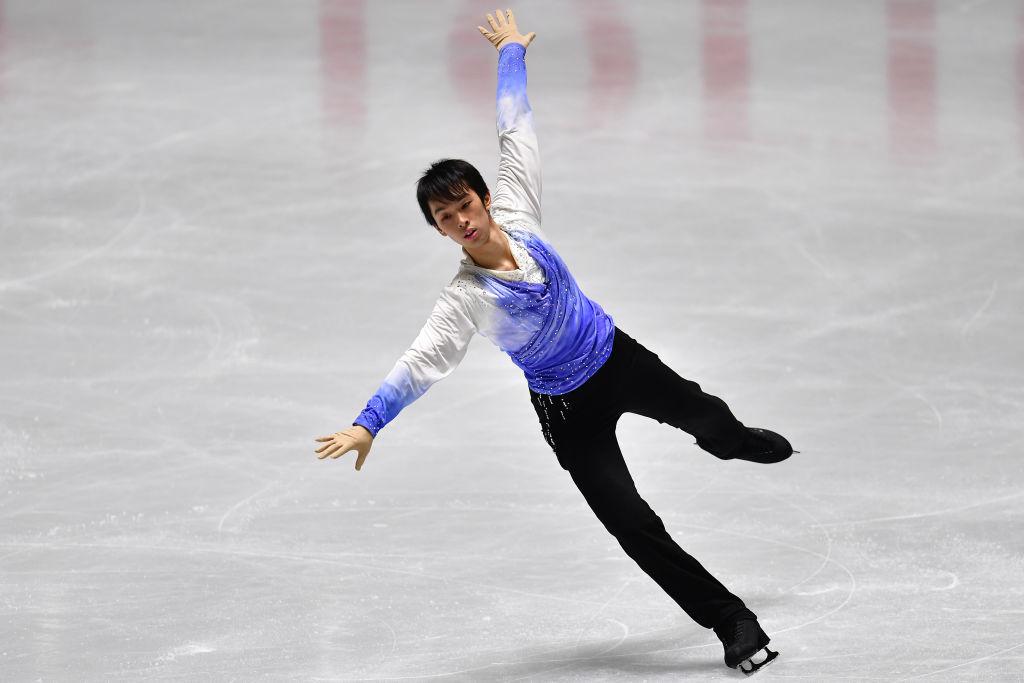 須本光希、憧れの羽生結弦と「やっと同じ試合に出られた」 画像