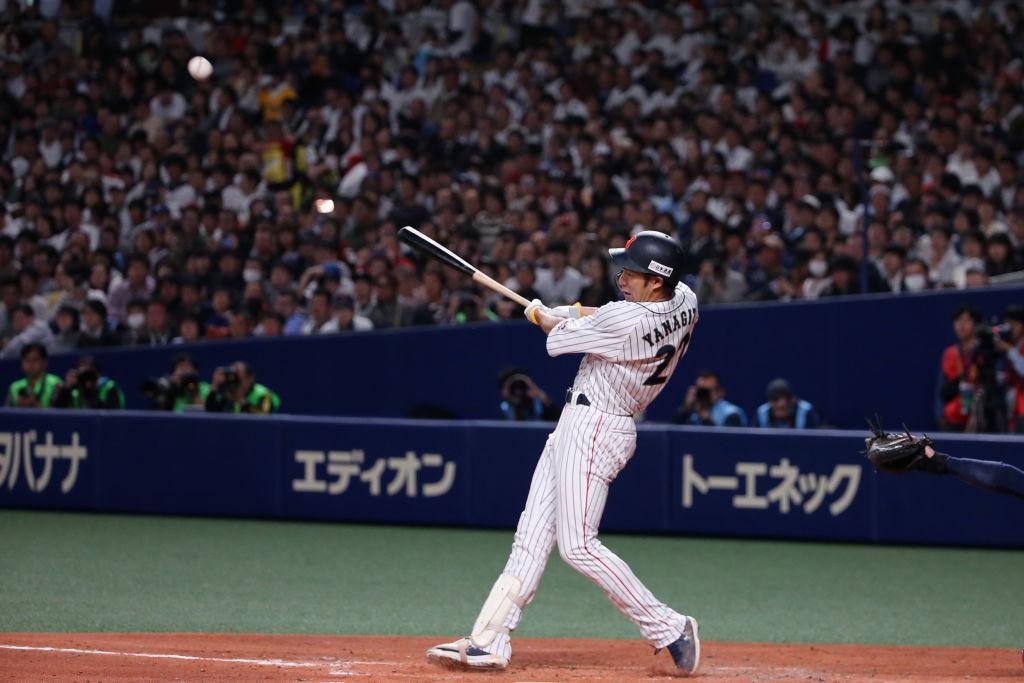 柳田悠岐と新井貴浩が『S☆1』に出演 打撃理論を語り合う 画像