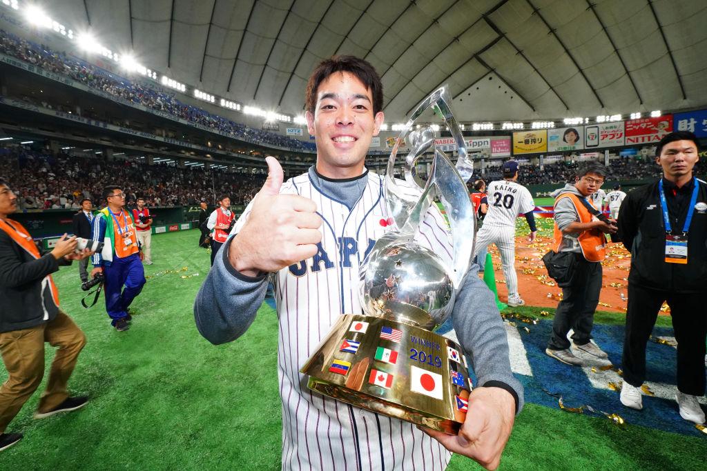 秋山翔吾がレッズと3年契約で合意 正捕手も「日本語が学びたいです」と反応 画像