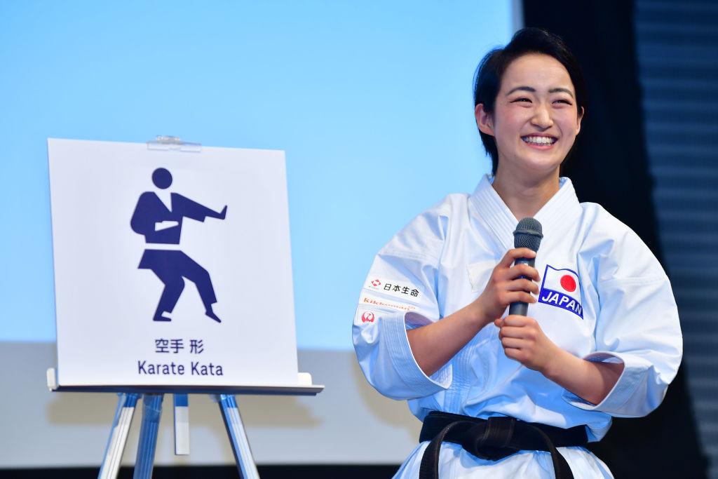 清水希容、五輪イヤーに向け「悔いなく」 空手「形」は東京五輪で正式種目に 画像