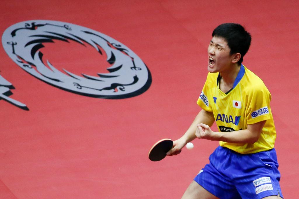 張本智和、東京五輪へ向けメッセージ公開 「夢から現実に近づいてきた」 画像