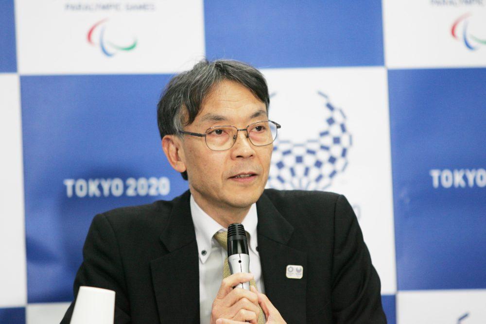 東京2020組織委員会の古宮正彰副事務局長